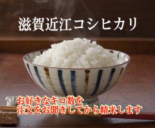 30年度産 滋賀近江コシヒカリ 1kg