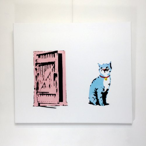 < kurry > Suddenly one morning -Blue cats-