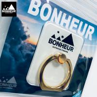 【BONHEUR】smartphone ring/White