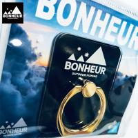 【BONHEUR】smartphone ring/BK