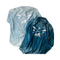 BONHEUR デニムシャツ ブルー/サックス