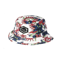 【RVCA】tropical dmote bucket Antique White バケットハット アンティークホワイト