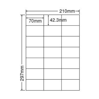 【21面】 ナナラベル LDZ21QBA A4サイズ シンプルパック