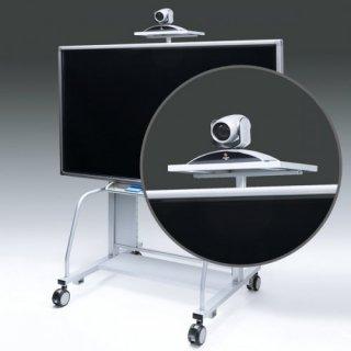 サンワサプライ 液晶・プラズマTVスタンド用TV会議カメラ設置台( CR−PL20専用) CR-PL20CT