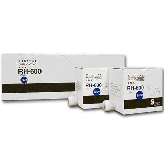 【リコー・エディシス・ミノルタ対応】 RH600(RH-600) インク 青 20本 汎用品