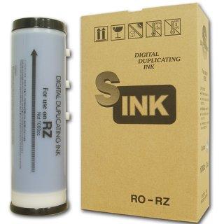 【リソー/デュプロ対応】RO-RZ インク 緑 6本 汎用品