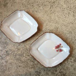 【益子焼 渡辺キエ】小皿 ひし型