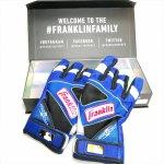 野球 フランクリン Franklin バッティンググラブ 手袋 パワーストラップ クロム POWERSTRAP CHROME CUSTOM 箱付き ギフト