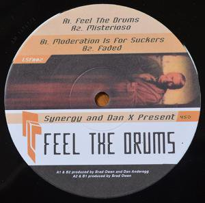 """Synergy and Dan X / Feel The Drums (12"""")"""