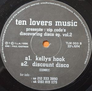 """Zip Code / Discovering Disco EP Vol. 2 (12"""")"""