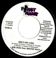 Beenie Man feat Rik Rok / She's My Girl(7