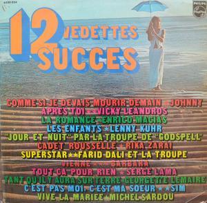 V.A / 12 Vedettes 12 Succes(LP)