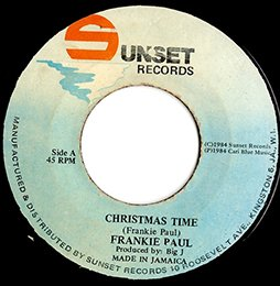 Frankie Paul / Christmas Time (7