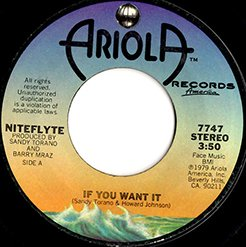 "Niteflyte / If You Want It / I Wonder (If I'm Falling In Love Again) (7"")"