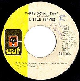 "Little Beaver / Party Down (7"")"