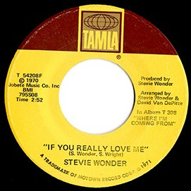 """stevie wonder / if you really love me(7"""")"""