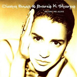 "Diana Brown & Barrie K Sharpe / Eating Me Alive  (7"")"