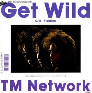 """TM NETWORK / GET WILD (7"""")"""