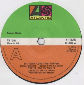 Average White Band / If I Ever Lose This Heaven (7