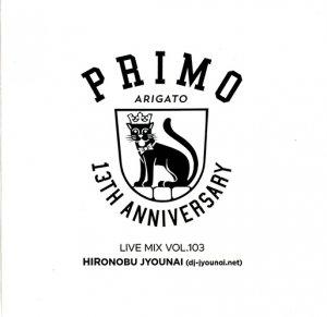 PRIMO Mix Vol.103 (26 April. 2018) (MIXCDR)
