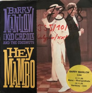 Barry Manilow With Kid Creole And The Coconuts / Hey Mambo (7