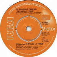 Dr. Buzzard's Original Savannah Band / I'll Play The Fool / Sunshower (7