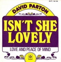 David Parton / Isn't She Lovely (7