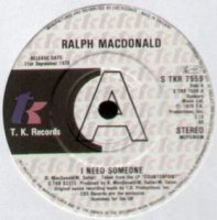 Ralph MacDonald / I Need Someone / Discolypso (7