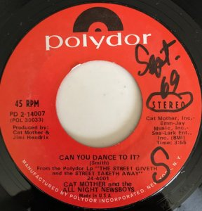 Cat Mother And The All Night Newsboys / Can You Dance To It? / Marie (7