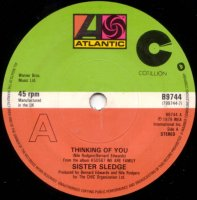SISTER SLEDGE / THINKING OF YOU (7