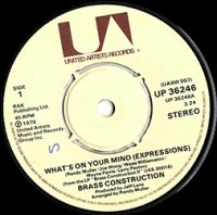 Brass Construction / What's On Your Mind (Expressions) (7