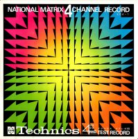 V.A / NATIONAL MATRIX 4 CHANNEL RECORD(STEREO TEST RECORD)(7