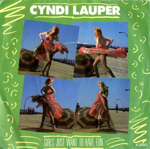 CYNDI LAUPER / GIRLS JUST WANT TO HAVE FUN(7