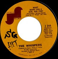 The Whispers / What More Can A Girl Ask For? (7