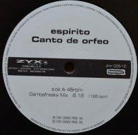 ESPIRITO / CANTO DE ORFEO (12