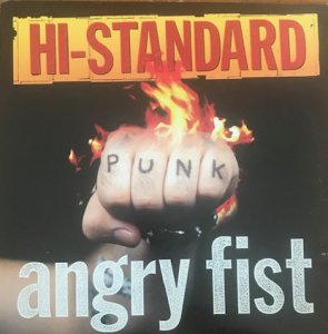 HI-STANDARD / ANGRY FIST (LP)
