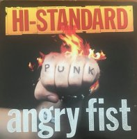 HI-STANDARD / ANGRY FIST (LP)