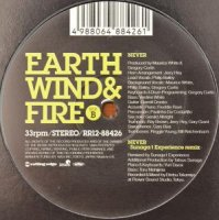 "EARTH WIND & FIRE / NEVER (12"")"