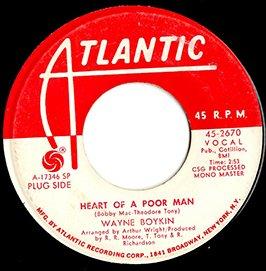 Wayne Boykin / Heart Of A Poor Man / Make Me Yours (7
