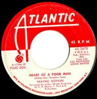 Wayne Boykin / Heart Of A Poor Man / Make Me Yours (7