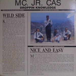 MC. Jr. Cas / Wild Side / Nice And Easy (12