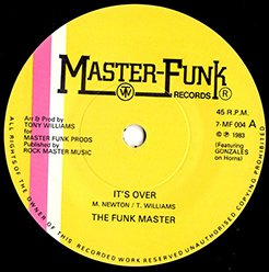 The Funk Master / It's Over (7