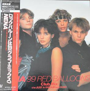 NENA / 99 RED BALLOONS CLUB MIX (12