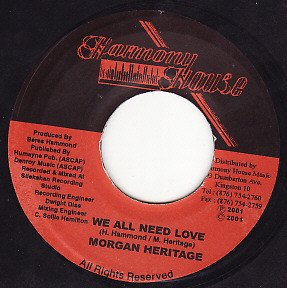Morgan Heritage / We All Need Love (7