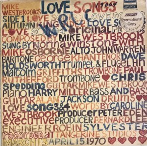 The Mike Westbrook Concert Band / Mike Westbrook's Love Songs (LP)