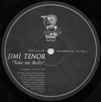 Jimi Tenor / Take Me Baby (12