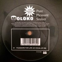 "Molok / Pure Pleasure Seeker (Todd Edwards Mixes) (12"")"