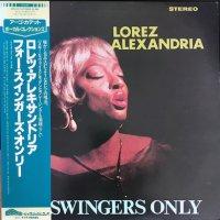 Lorez Alexandria / For Swingers Only (LP)