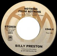 BILLY PRESTON / NOTHING FROM NOTHING (7