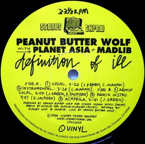 Peanut Butter Wolf / Definition Of Ill (12